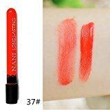 Remeehi 38 Colors Waterproof Long Lasting Velvet Matte Lip Gloss Cosmetic Lipstick 37#