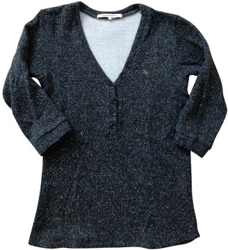 Berangere Claire Claire Anthracite Cotton Knitwear for Women