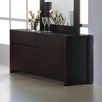 Hokku Designs Metro 6 Drawer Double Dresser