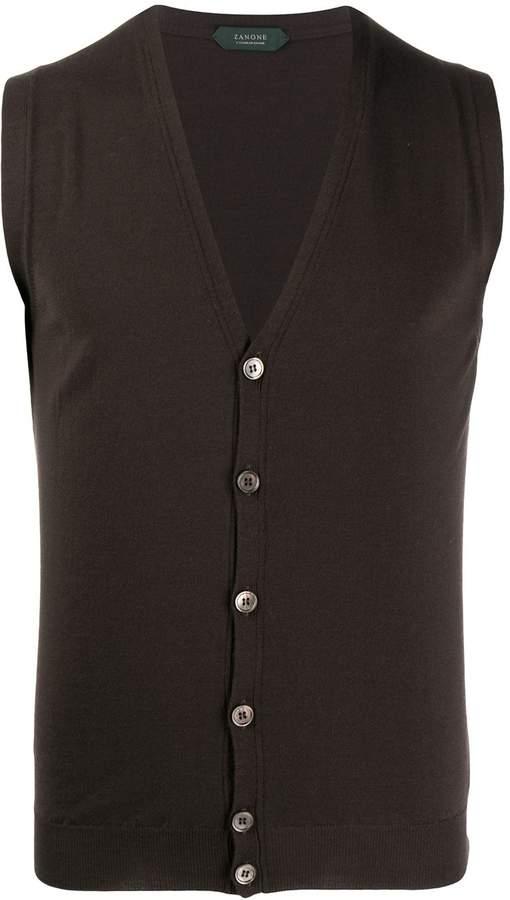 Zanone buttoned vest