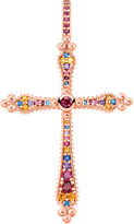 Thomas Sabo Royalty cross 18ct rose gold-plated pendant