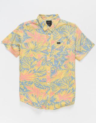 RVCA Sanderson Floral Boys Shirt