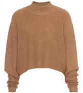 Acne DARKO CROPPED WOOL PULLOVER