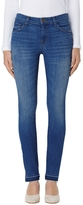 J Brand Mid-Rise Skinny In Angelic