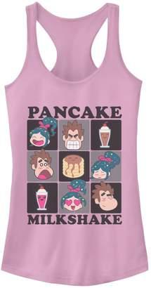 Disney Juniors' Wreck It Ralph 2 Pancake Milkshake Racerback Tank