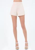 Bebe Lace Inset Tulip Shorts
