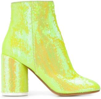 MM6 MAISON MARGIELA sequin-embellished ankle boots