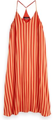 Scotch & Soda Stripe Slipdress