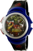 Disney Boy's Avengers AVGKD093 Multicolor Silicone Quartz Fashion Watch