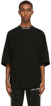 Palm Angels Black Classic Logo T-Shirt