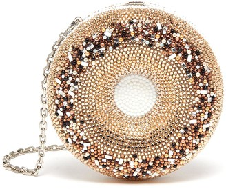 Judith Leiber Everything Bagel' Crystal Embellished Crossbody Bag