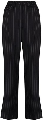 Frankie Shop Pernille Pinstripe Tailored Trousers