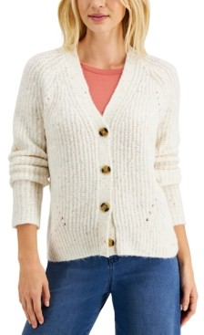 Style&Co. Style & Co Boyfriend Cardigan, Created for Macy's