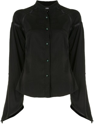 Lisa Von Tang Split Sleeve Shirt