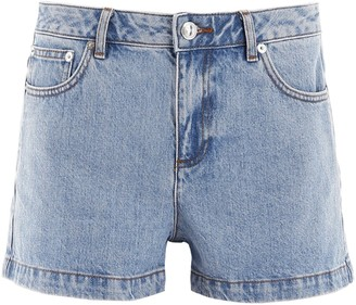 A.P.C. Flared Denim Shorts