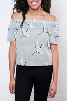 Only Crane Off Shoulder Top