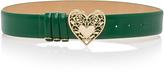 Elie Saab Heart Buckle Belt