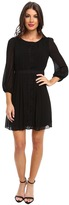 Jessica Simpson 3/4 Sleeve Chiffon Dress