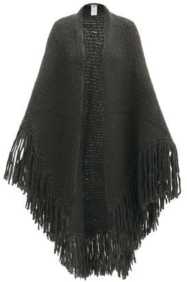 Gabriela Hearst Lauren Fringed Cashmere Wrap - Khaki