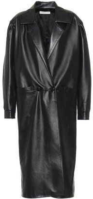 Alessandra Rich Leather coat