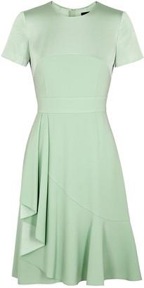 Paule Ka Mint Draped Dress