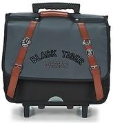 Ikks BLACK TIGER CARTABLE TROLLEY 41CM Black