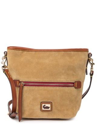 Dooney & Bourke Mini Suede Hobo Crossbody Bag