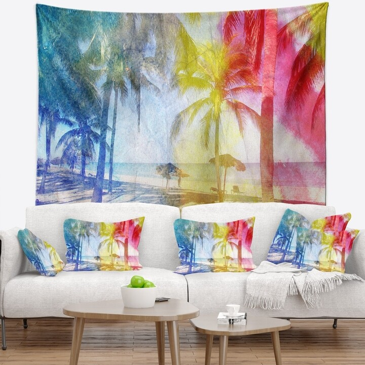 Palm Tree Wall Art Shop The World S Largest Collection Of Fashion Shopstyle