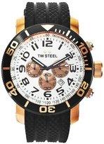 TW Steel Grandeur Diver 48MM Men's Stainless Steel Case Chronograph Watch TW77