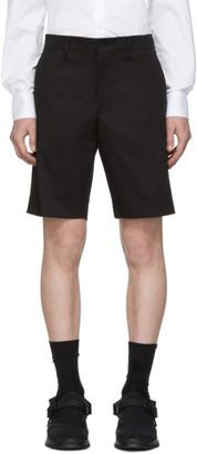 Prada Black Gabardine Shorts