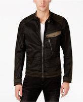 G Star Men's Revend PM 3D Slim-Fit Colorblocked Denim Jacket