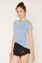 Forever 21 FOREVER 21+ Burnout Knit Tee