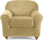 Sure Fit Royal Diamond Stretch 2-pc. Chair Slipcover