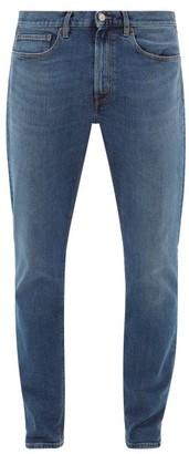 Jeanerica Jeans & Co. - Tm005 Cotton-blend Tapered-leg Jeans - Denim
