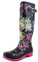 Joules Wellyprint Women Round Toe Synthetic Multi Color Rain Boot.