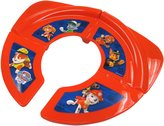 Ginsey Traveling/Folding Potty - Red/Blue