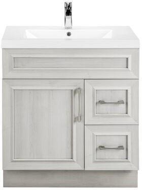 "Cutler Kitchen & Bath Classic 30"" Single Vanity Bathroom Vanity Set Base Finish: Meadows Cove"