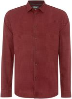 Linea Doyle Long Sleeve Geo Print Shirt