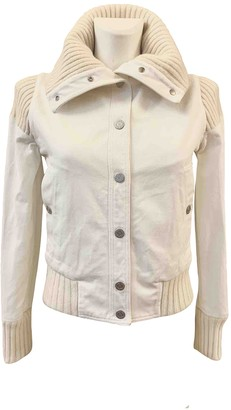 Chanel White Cotton Jackets