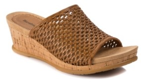 Bare Traps Baretraps Flossey Slip-On Wedge Sandals Women's Shoes