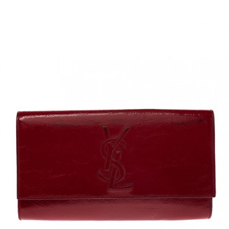 Saint Laurent Red Patent leather Clutch bags