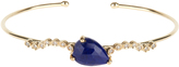 Jacquie Aiche Diamond, lapis & yellow-gold cuff