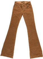 J Brand Flared Corduroy Pants w/ Tags
