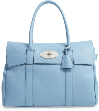 Mulberry Small Bayswater Heritage Leather Satchel