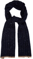 Brunello Cucinelli Flecked Wool And Cashmere-blend Scarf