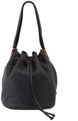 Hobo Brandish Leather Convertible Bucket Bag