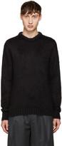Jil Sander Black Mohair Sweater
