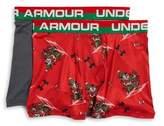 Under Armour Boy's Two-Pack Santa Boxer Brief Set