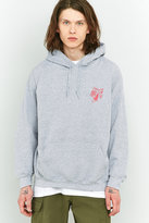 Uo Alley Cats Grey Hoodie