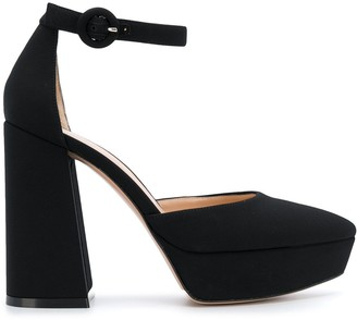 Gianvito Rossi platform Mary Jane pumps